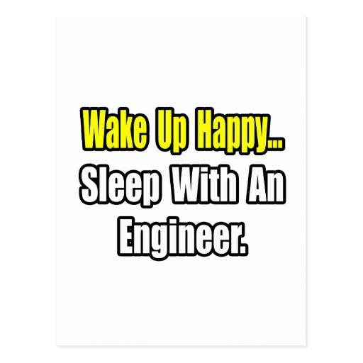 Sleep With an Engineer Post Card