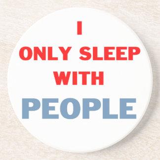 Sleep with People Coaster