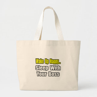 Sleep With Your Boss Tote Bag