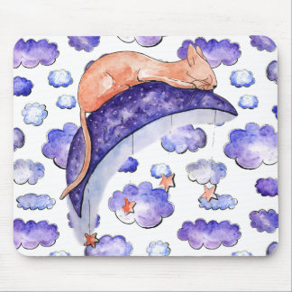 Sleeping Amongst the Stars Mousepad