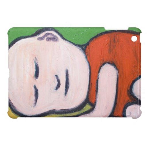 Sleeping Baby Buddha ( Buddhism pop art ) iPad Mini Cases