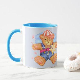 SLEEPING BEAR BABY 2 CARTOON Combo Mug11 onz Mug