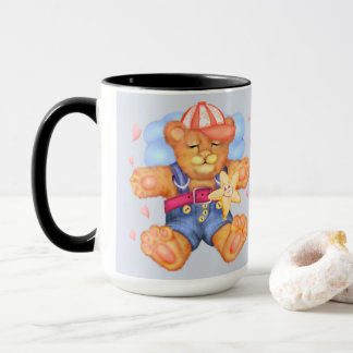 SLEEPING BEAR BABY CARTOON Combo Mug