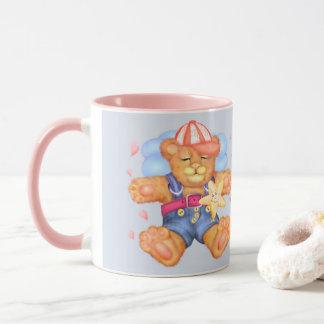 SLEEPING BEAR BABY CARTOON Combo Mug11 onz Mug