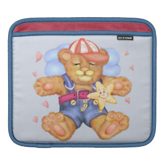 SLEEPING BEAR BABY CARTOON iPad Horizontal iPad Sleeve