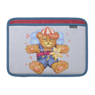 "SLEEPING BEAR BABY CARTOON  Macbook Air 11"" Sleeve For MacBook Air"