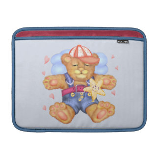 "SLEEPING BEAR BABY CARTOON  Macbook Air 13"" MacBook Sleeve"