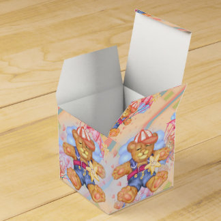 SLEEPING BEAR BABY  Classic 2x2 Favour Box