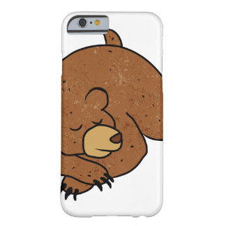 sleeping bear cartoon barely there iPhone 6 case