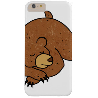 sleeping bear cartoon barely there iPhone 6 plus case