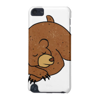 sleeping bear cartoon iPod touch (5th generation) case