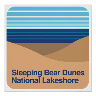 Sleeping Bear Dunes National Lakeshore Poster