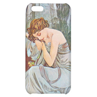 Sleeping Beautiful Woman iPhone 5C Cases