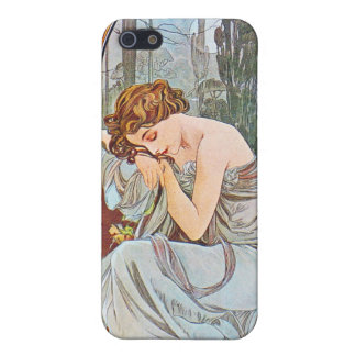 Sleeping Beautiful Woman Case For The iPhone 5