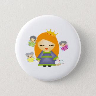 Sleeping Beauty 6 Cm Round Badge