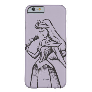 Sleeping Beauty   Aurora - Vintage Rose Barely There iPhone 6 Case