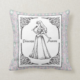 Sleeping Beauty | Aurora - Vintage Rose Cushion