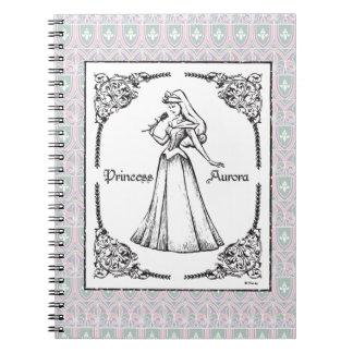 Sleeping Beauty | Aurora - Vintage Rose Notebook