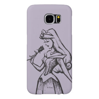 Sleeping Beauty | Aurora - Vintage Rose Samsung Galaxy S6 Cases