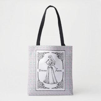 Sleeping Beauty | Aurora - Vintage Rose Tote Bag