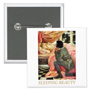 Sleeping Beauty Pinback Buttons