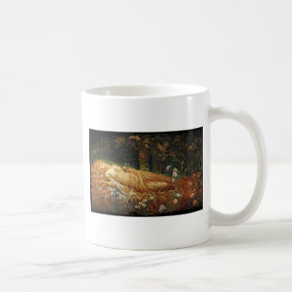 Sleeping Beauty Beside a Harp Coffee Mug