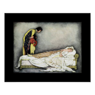 Sleeping Beauty ~ Fairy Tales ~ Bedtime Story ~ Poster