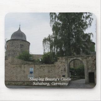 Sleeping Beauty Fairytale Castle Mouse Pad