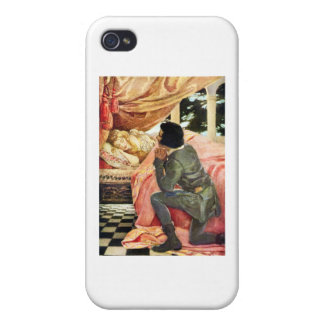 Sleeping Beauty Cases For iPhone 4