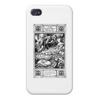 sleeping beauty iPhone 4/4S covers