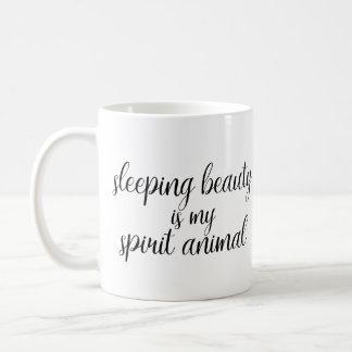 Sleeping Beauty is my Spirit Animal Mug