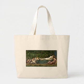 sleeping beauty large tote bag