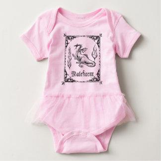 Sleeping Beauty   Maleficent Dragon - Gothic Baby Bodysuit