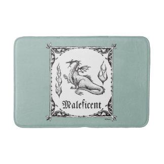 Sleeping Beauty   Maleficent Dragon - Gothic Bath Mat