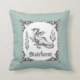 Sleeping Beauty   Maleficent Dragon - Gothic Cushion