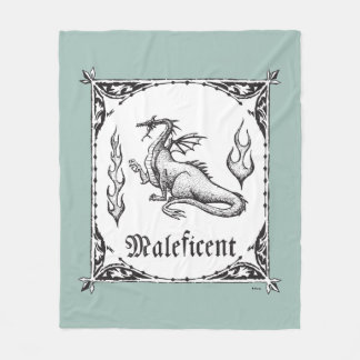 Sleeping Beauty   Maleficent Dragon - Gothic Fleece Blanket