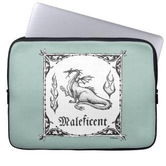 Sleeping Beauty   Maleficent Dragon - Gothic Laptop Sleeve