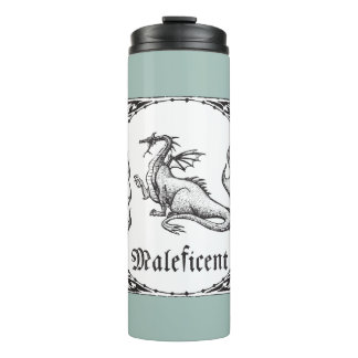 Sleeping Beauty   Maleficent Dragon - Gothic Thermal Tumbler