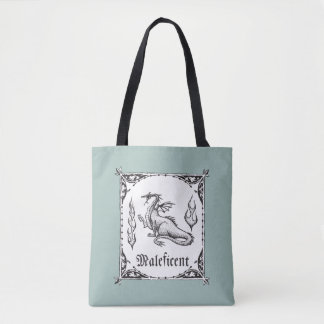 Sleeping Beauty | Maleficent Dragon - Gothic Tote Bag