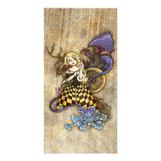 Sleeping Beauty Picture Card