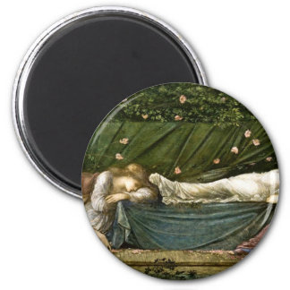 sleeping-beauty-pictures-4 6 cm round magnet