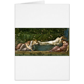 sleeping-beauty-pictures-4 greeting card