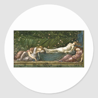 sleeping-beauty-pictures-4 round sticker