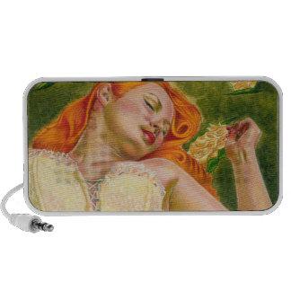 Sleeping beauty speaker