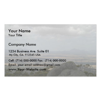 Sleeping Beauty The Stirling Ranges From Castle Ro Business Card Templates