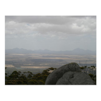 Sleeping Beauty The Stirling Ranges From Castle Ro Post Card