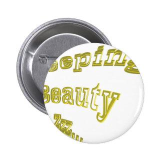Sleeping Beauty ZZZ gold 3DD nice Buttons