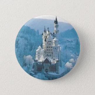 Sleeping Beauty's Castle 6 Cm Round Badge