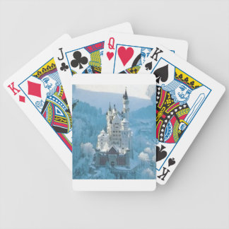 Sleeping Beauty's Castle Bicycle Playing Cards