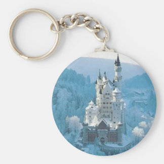 Sleeping Beauty's Castle Key Ring